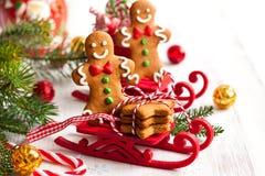 Cookies do pão-de-espécie Imagem de Stock