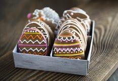 Cookies do pão-de-espécie Foto de Stock