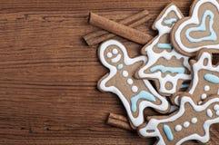 Cookies do pão-de-espécie imagem de stock royalty free