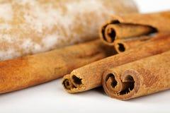 Cookies do pão-de-espécie com canela Fotografia de Stock