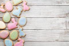 Cookies do pão-de-espécie da Páscoa Imagens de Stock