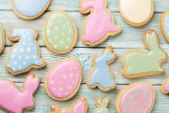 Cookies do pão-de-espécie da Páscoa Fotografia de Stock Royalty Free