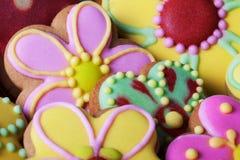 Cookies do pão-de-espécie de Vinage Foto de Stock Royalty Free