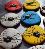 Cookies do pão-de-espécie para a Páscoa Imagem de Stock