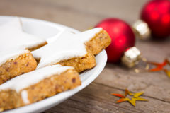Cookies do Xmas Foto de Stock Royalty Free