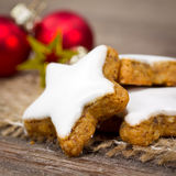 Cookies do Xmas Fotografia de Stock Royalty Free
