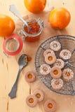 cookies Doce-enchidas Imagem de Stock