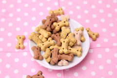 Cookies for Dogs. Some cookies for dogs made of meat and vegetables Royalty Free Stock Photography