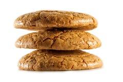 Cookies dos bolinhos de amêndoa Foto de Stock