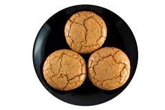 Cookies dos bolinhos de amêndoa Fotos de Stock Royalty Free