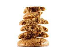 Cookies dos bolinhos de amêndoa equilibradas Imagem de Stock Royalty Free