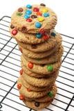 Cookies dos doces de chocolate imagem de stock