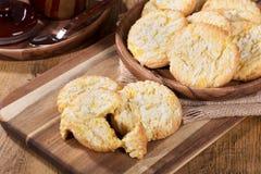 Cookies dos estalidos do limão Imagem de Stock Royalty Free