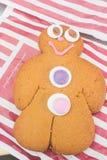Cookies dos homens de pão-de-espécie Fotografia de Stock Royalty Free