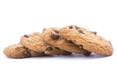 Cookies dos pedaços de chocolate Imagem de Stock