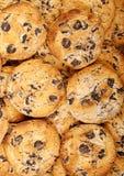 Cookies dos pedaços de chocolate Imagens de Stock