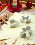 Cookies dough homemade for Christmas. Some cookies dough homemade for Christmas stock photo