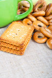 Cookies and drying Royalty Free Stock Photo