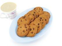 Cookies e café Imagem de Stock
