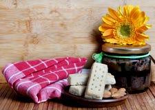 Cookies e doce de amêndoa foto de stock royalty free