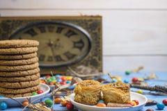 Cookies e outros doces Fotos de Stock Royalty Free