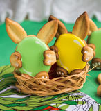 Cookies for Easter Royalty Free Stock Photos