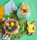 Cookies for Easter Royalty Free Stock Images