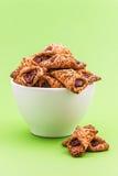 Cookies enchidas Imagem de Stock Royalty Free