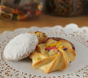 Cookies extravagantes Imagem de Stock Royalty Free