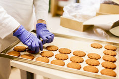 Cookies factory Stock Photos