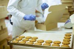 Cookies Factory stock photos