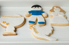 Cookies for a First Communion Stock Photos