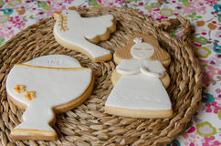 Cookies for a First Communion Royalty Free Stock Photo