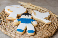 Cookies for a First Communion Stock Photography
