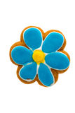 Cookies flower Royalty Free Stock Photography
