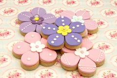 Cookies flowers Stock Photos