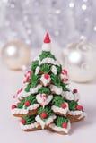Cookies geadas do pão-de-espécie Foto de Stock Royalty Free