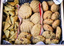Cookies gift set Stock Photos