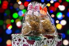 Cookies gift set Royalty Free Stock Image