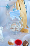 Cookies in a glass jar Royalty Free Stock Photos