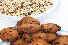 Cookies and grains Royalty Free Stock Image