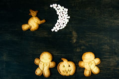 Cookies for Halloween and Thanksgiving. Stock Image