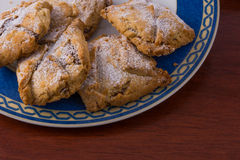 Cookies. Handmade cookies from italian traditional pastry, sweet and tasty Royalty Free Stock Photos