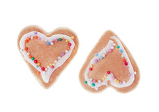 Cookies heart Royalty Free Stock Photo