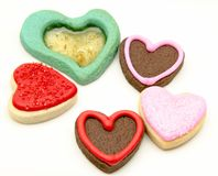 Cookies heart Stock Photo