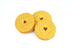 Cookies with heart Royalty Free Stock Images