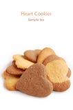 Cookies in heart shape Stock Photos