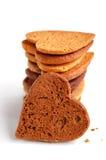 Cookies in heart shape Stock Photo