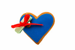 Cookies heart with surprise Royalty Free Stock Photo