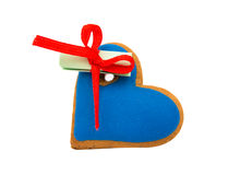 Cookies heart with surprise Stock Photo